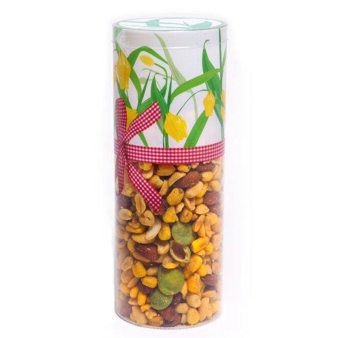 Mix solených a wasabi ořechů v tubusu, 450 g