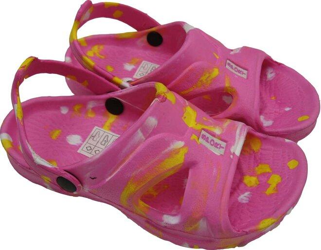 Dětské sandálky Sport růžové