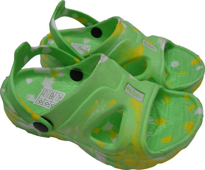 Dětské sandálky Sport zelené