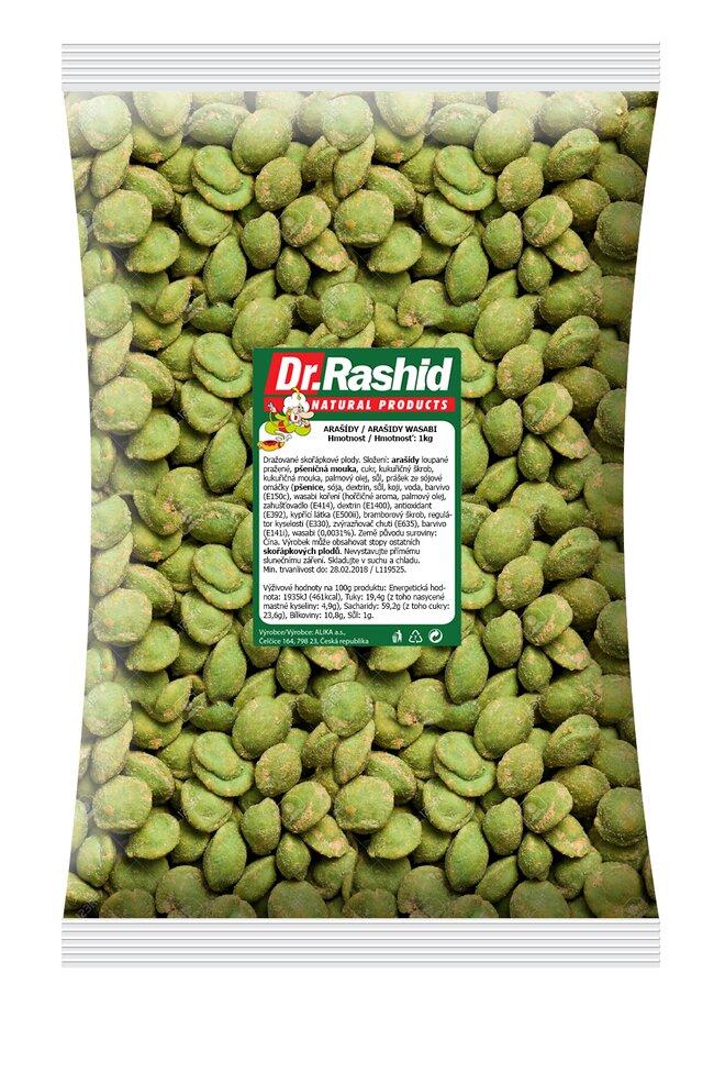 Arašídy Wasabi, 1000 g