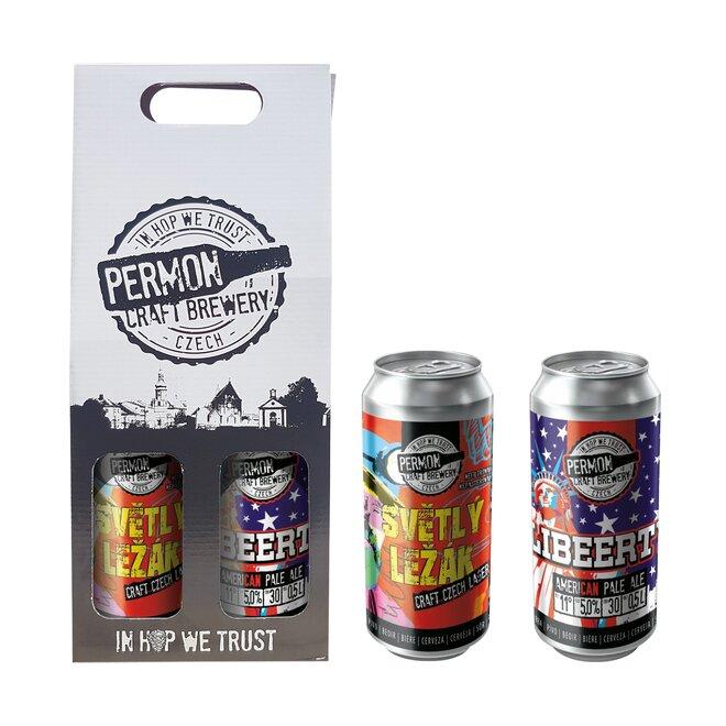 2 piva Permon v dárkovém balení