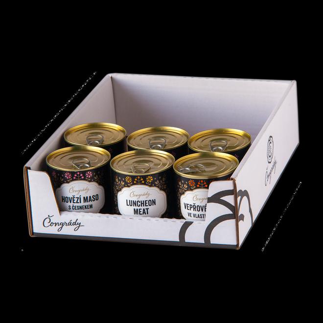 Mini chlapské KáDéčko – mix 6 konzerv
