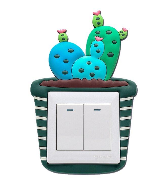 Ozdoba na vypínač – kaktus 3