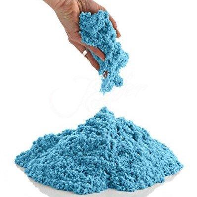 1 kg písku - modrá