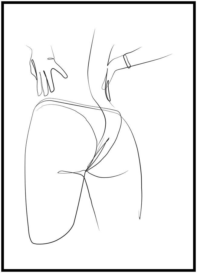 Plakát Odvážná