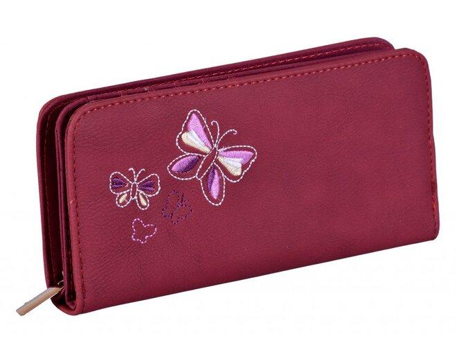 Peněženka JSPS 155 - motýl