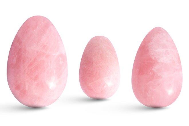 Sada 3 Yoni vajíček – růženín