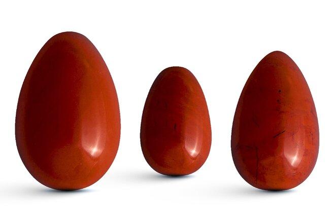 Sada 3 Yoni vajíček – jaspis