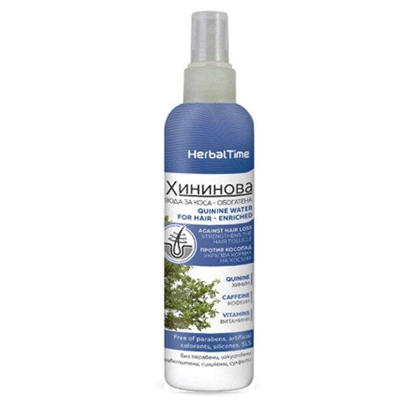 Herbal Time - Chininová vlasová voda, 200 ml