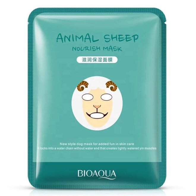 Pleťová maska Bioaqua - Sheep