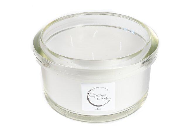 Svíčka bez parfemace Clear 2,8 kg