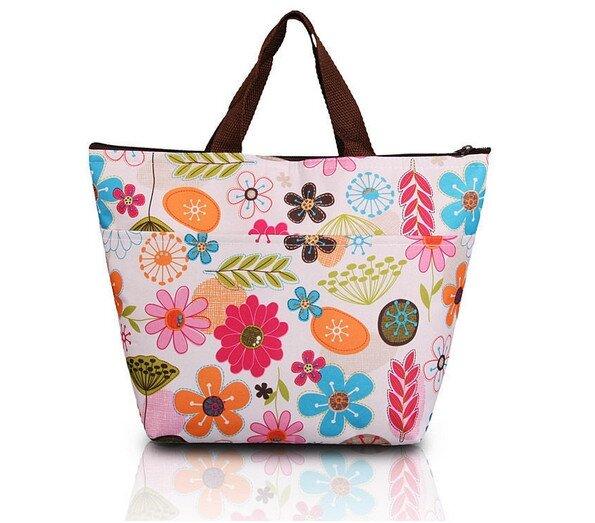 Termotaška - barevné květy