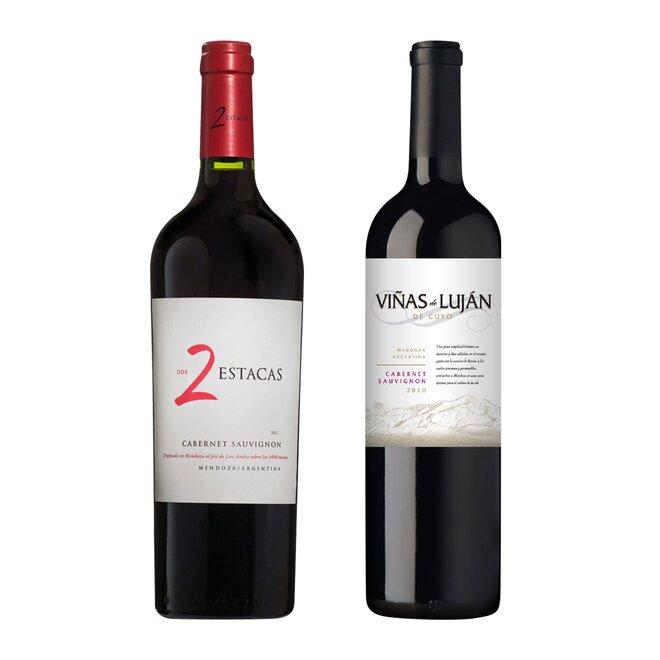 Set dvou argentinských vín Cabernet Sauvignon