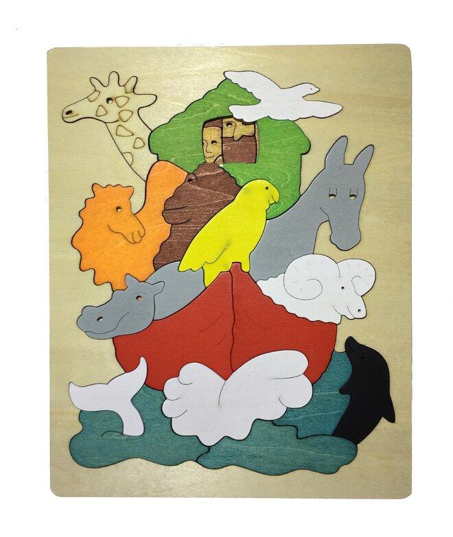 Vícevrstvé puzzle - Noemova Archa