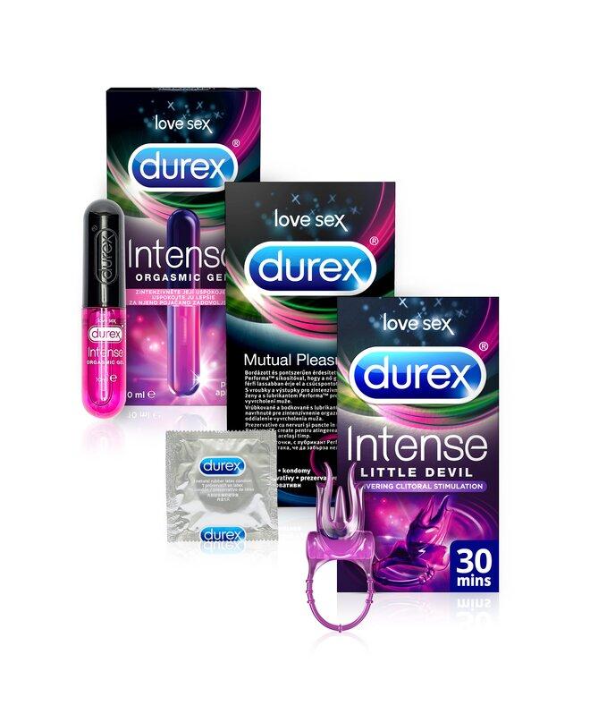 Durex orgasmic balíček