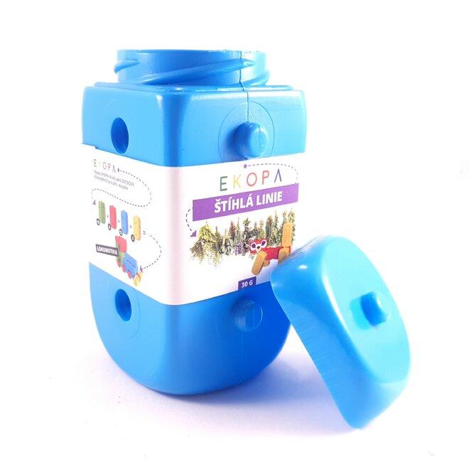 Sypaný čaj pro štíhlou linii v EKOPA kostce - modrá