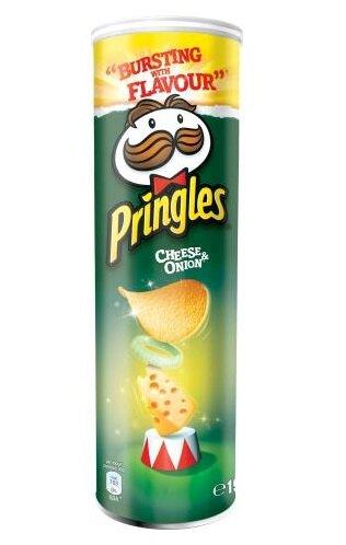 Pringles Cheese & Onion, 200 g
