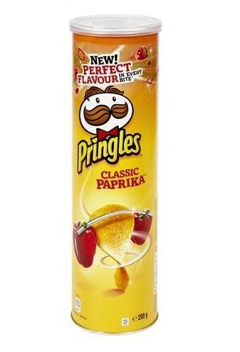 Pringles Paprika Classic, 200 g