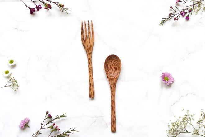 Vidlička a lžíce - 2 ks