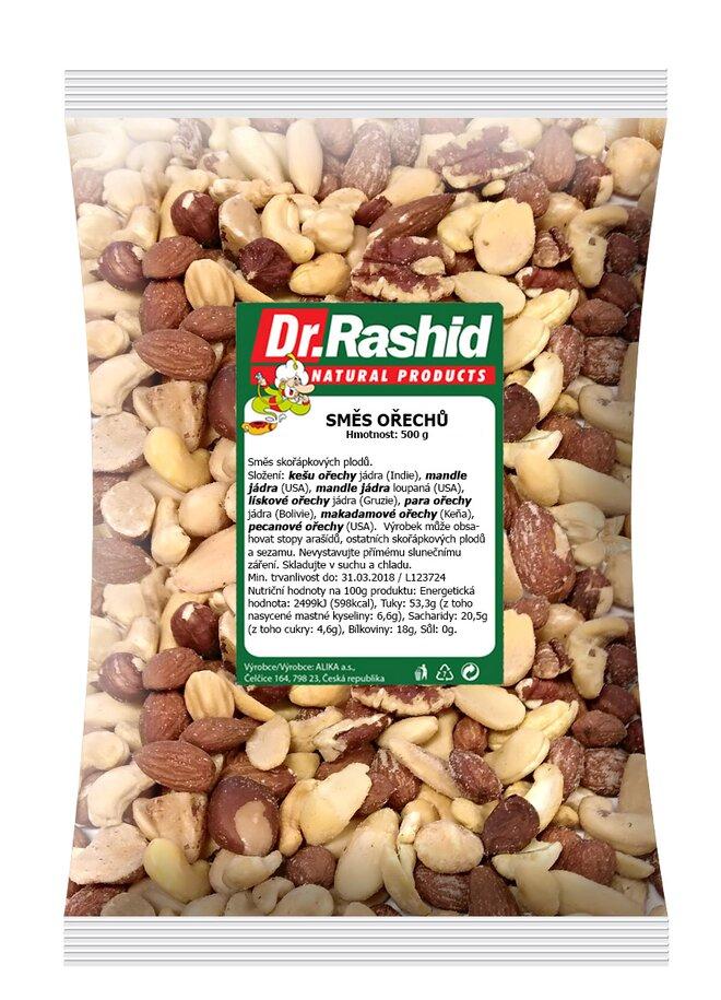Směs ořechů natural, 500 g