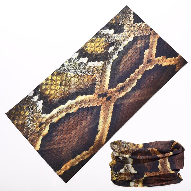 Multifunkční nákrčník – had