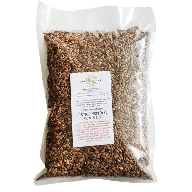 Ostropestřec – celá semínka, 1000 g