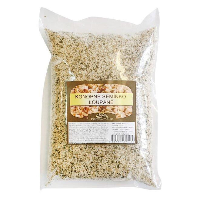 Konopné semínko – loupané, 1000 g