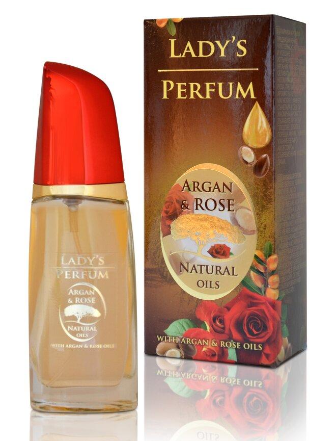 Parfém Lady's Perfum Argan & Rose Natural Oils, 50 ml