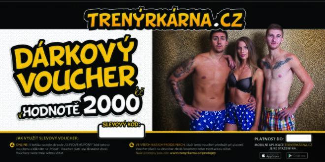 Voucher v hodnotě 2000 Kč + 200 Kč na další nákup