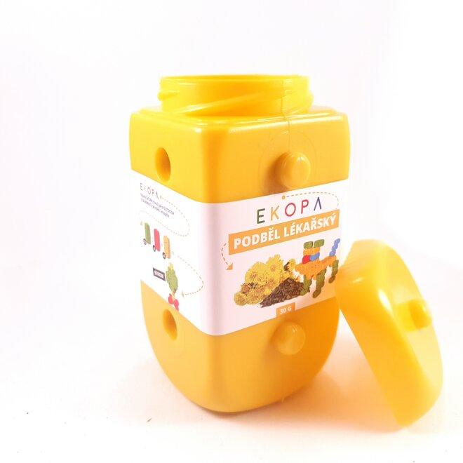 Sypaný čaj Podběl lékařský v EKOPA kostce - žlutá