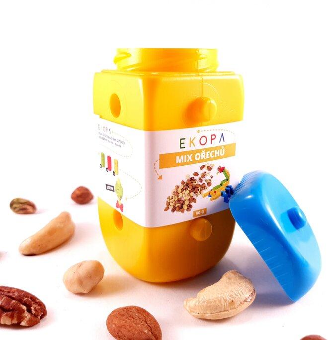 Mix ořechů v EKOPA kostce - žlutá