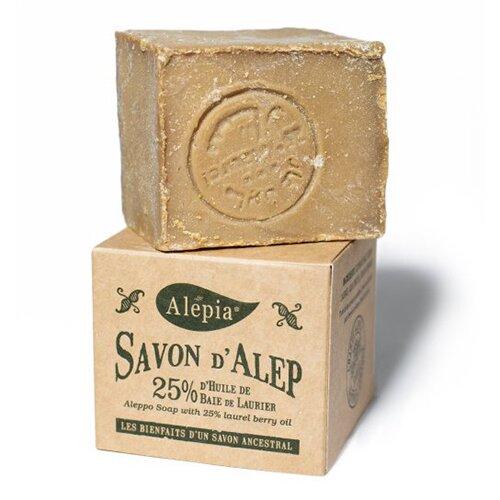 Tradiční aleppské mýdlo s 25 % vavřínového oleje, 190 g
