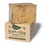 Tradiční aleppské mýdlo se 40 % vavřínového oleje, 190 g