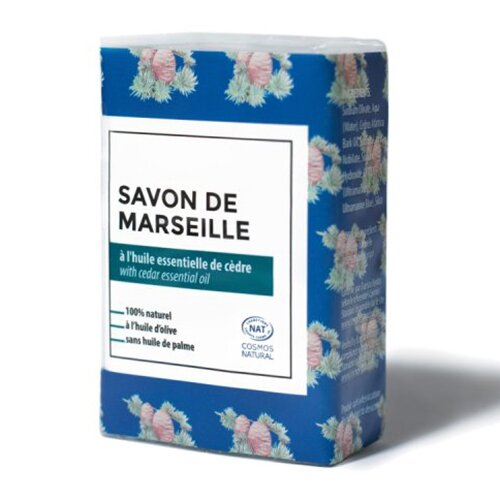 Marseillské mýdlo s cedrem, 100 g