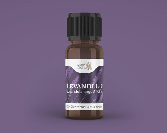 100% esenciální olej – levandule, 10 ml