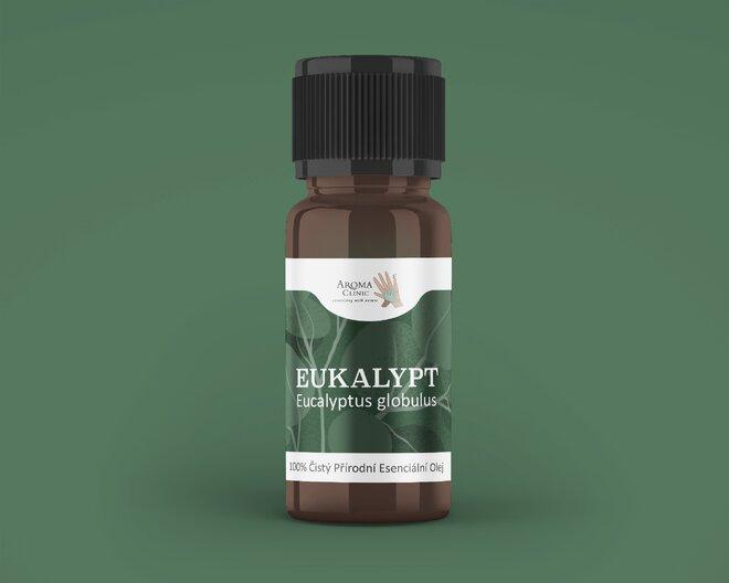 100% esenciální olej – eukalyptus, 10 ml