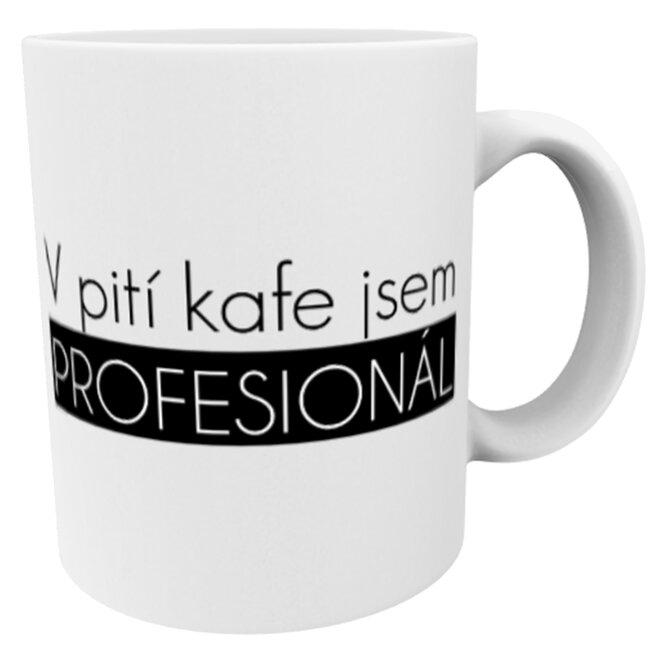Hrnek pro profesionální pijáky kávy