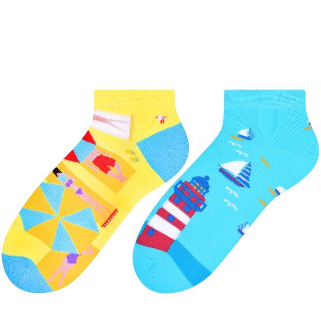 Dámské vysoké ponožky - maják, lodě