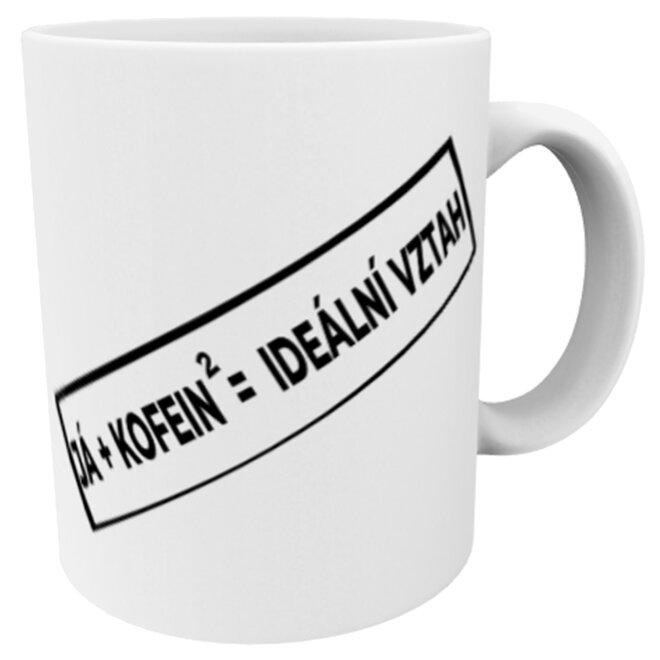 Hrnek já + kofein = ideální vztah
