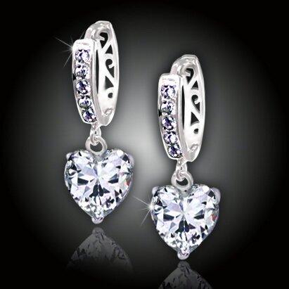 Náušnice La Diamantina Love