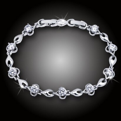 Okouzlující náramek Adrianna s třpytivými krystaly