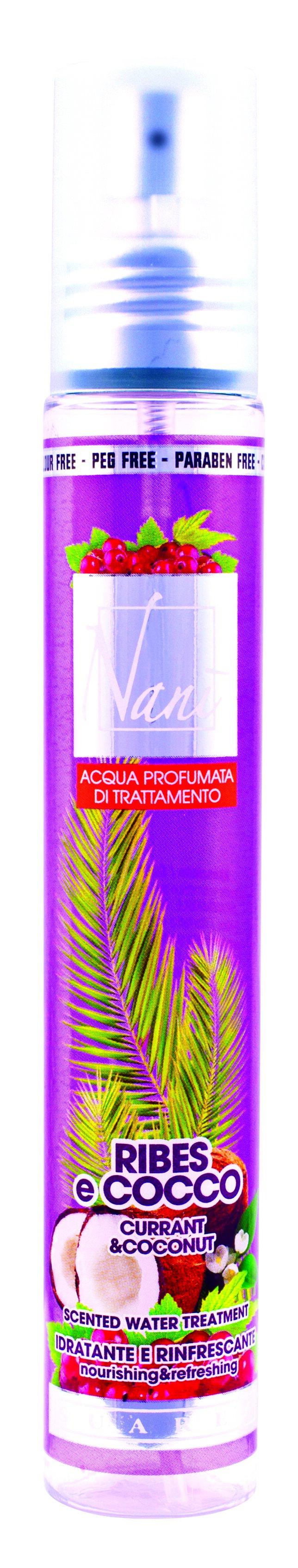 Parfémová voda Nani s přírodní aloe – Kokos + rybíz
