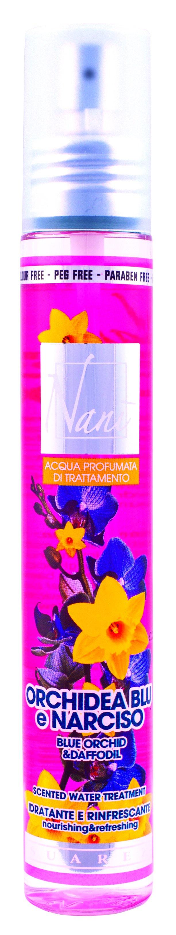 Parfémová voda Nani s přírodní aloe – Modrá orchidej + narcis