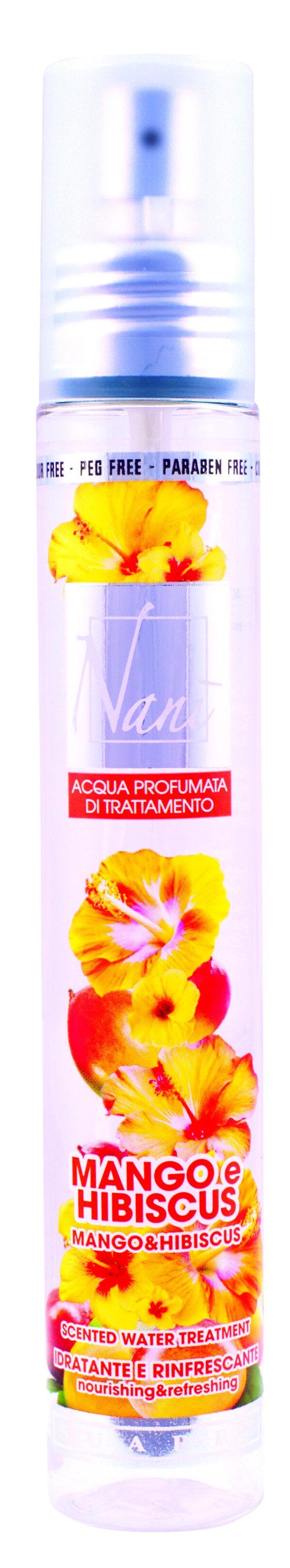 Parfémová voda Nani s přírodní aloe – Mango + ibišek