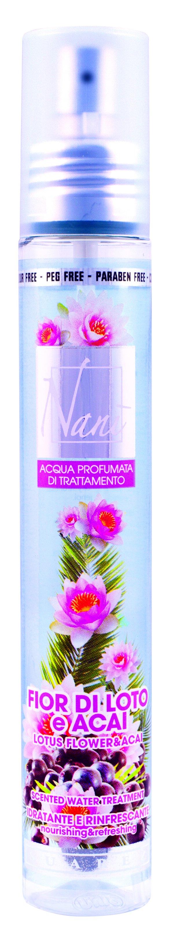 Parfémová voda Nani s přírodní aloe – Lotosový květ + acai
