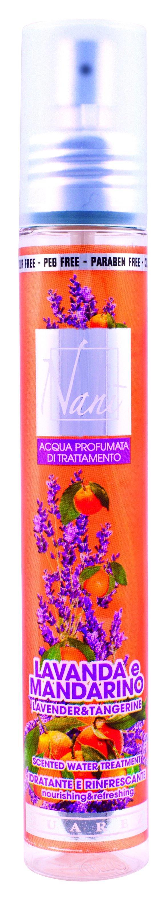 Parfémová voda Nani s přírodní aloe – Levandule + mandarinka