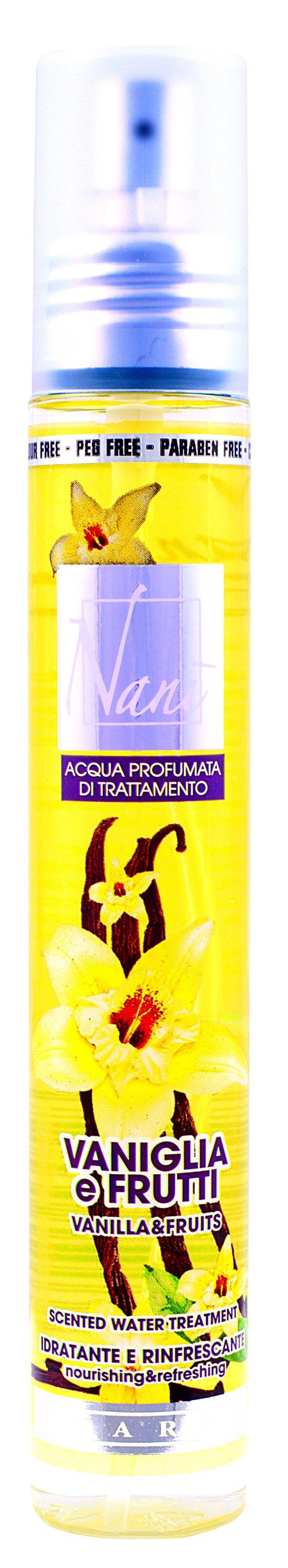 Parfémová voda Nani s přírodní aloe – Vanilka + ovoce