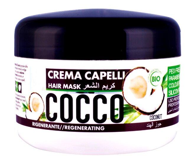 Bio vlasová maska Nani s kokosovým a slunečnicovým olejem
