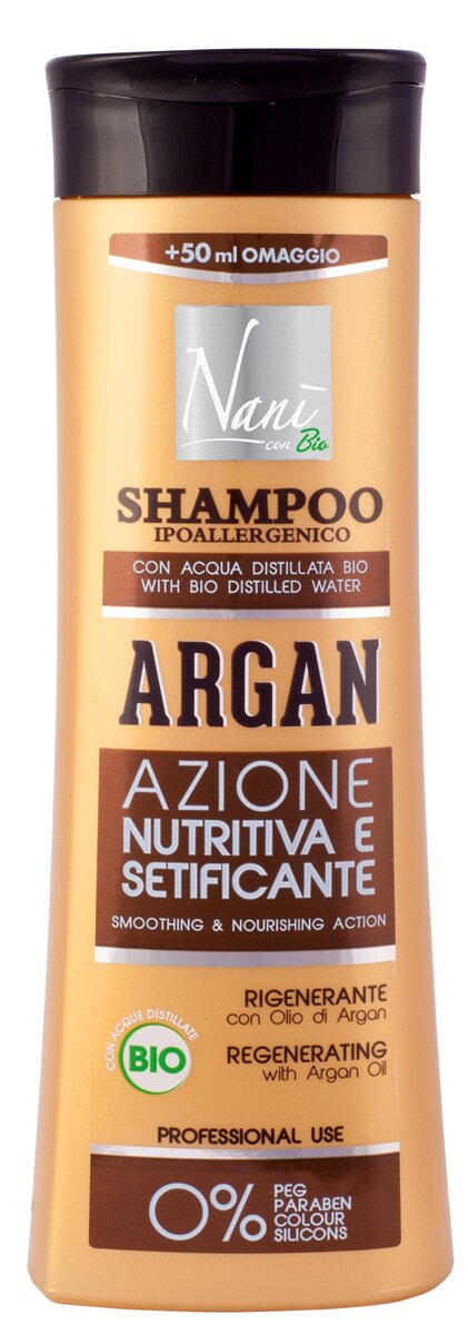 Bio šampón Nani s arganovým olejem a keratinem