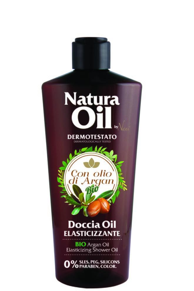 Sprchový olej s bio arganovým olejem